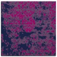 rug #1081126 | square blue abstract rug