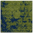 rug #1081134 | square blue graphic rug