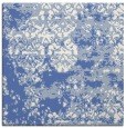 rug #1081138 | square blue graphic rug