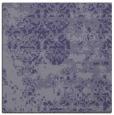 rug #1081182   square blue-violet damask rug