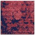 rug #1081186 | square blue-violet faded rug