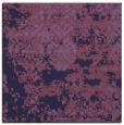 rug #1081190 | square blue-violet traditional rug