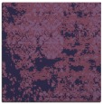 rug #1081190 | square purple damask rug