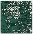 rug #1081226 | square blue-green damask rug