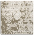 rug #1081250 | square mid-brown graphic rug