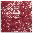 rug #1081314   square pink damask rug