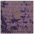 rug #1081334 | square mid-brown abstract rug