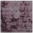 rug #1081338 | square purple faded rug