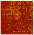 rug #1081346 | square red traditional rug