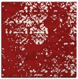 rug #1081350 | square red traditional rug