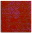rug #1081354 | square pink damask rug