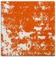 rug #1081370 | square red-orange faded rug