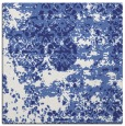 rug #1081386 | square blue abstract rug