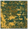 rug #1081418 | square light-orange traditional rug