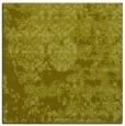 rug #1081426 | square light-green traditional rug