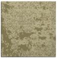 rug #1081430 | square light-green traditional rug