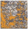 rug #1081454 | square light-orange graphic rug