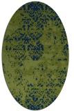 rug #1081503   oval damask rug