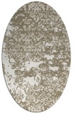 rug #1081621 | oval traditional rug