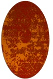 rug #1081715 | oval graphic rug