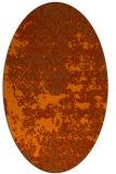 rug #1081729   oval faded rug