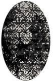 rug #1081747 | oval damask rug
