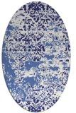 rug #1081756   oval faded rug