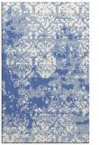 rug #1081874 |  blue graphic rug