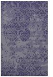 rug #1081918 |  blue-violet faded rug