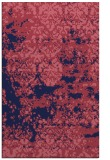 rug #1081922 |  blue-violet traditional rug