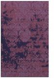 rug #1081926 |  blue-violet graphic rug