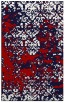 rug #1082078 |  red traditional rug