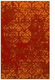 rug #1082082 |  orange traditional rug