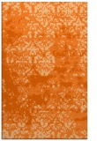 rug #1082098 |  red-orange abstract rug