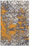 rug #1082190    light-orange damask rug