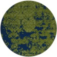 rug #1082238 | round blue traditional rug