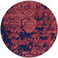 rug #1082290 | round faded rug