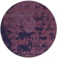rug #1082294 | round purple faded rug