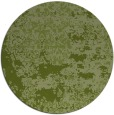 rug #1082322 | round green abstract rug