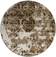 rug #1082353 | round abstract rug