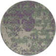 rug #1082378 | round purple faded rug