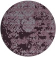 rug #1082442 | round purple faded rug