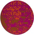 rug #1082470 | round red-orange abstract rug