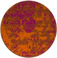 rug #1082473 | round graphic rug
