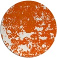 rug #1082474 | round red-orange traditional rug