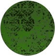 rug #1082478 | round light-green damask rug