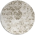 rug #1082506 | round white faded rug