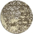 rug #1082514 | round white faded rug