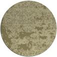 rug #1082534 | round light-green damask rug