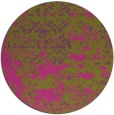 rug #1082541 | round faded rug